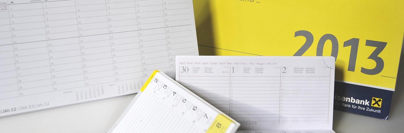Gestaltung und Kalendarien Erstellung